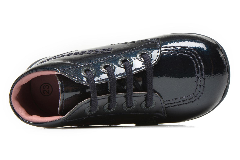 Bottines et boots Kickers Billista Bleu vue gauche