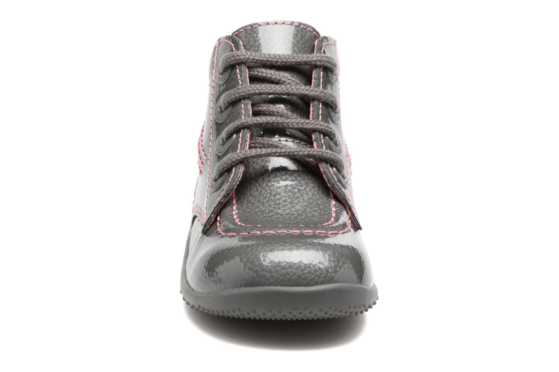 Bottines et boots Kickers Billista Gris vue portées chaussures