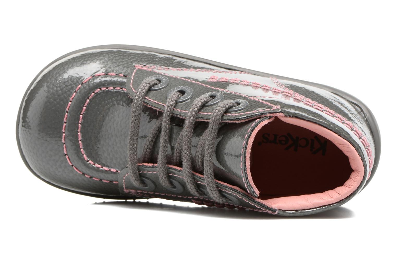 Boots en enkellaarsjes Kickers Billista Grijs links