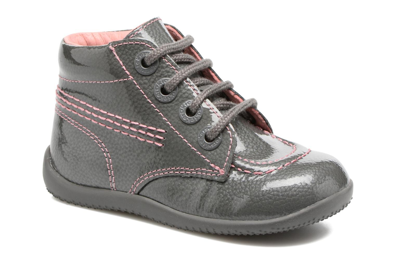 Boots en enkellaarsjes Kickers Billista Grijs detail
