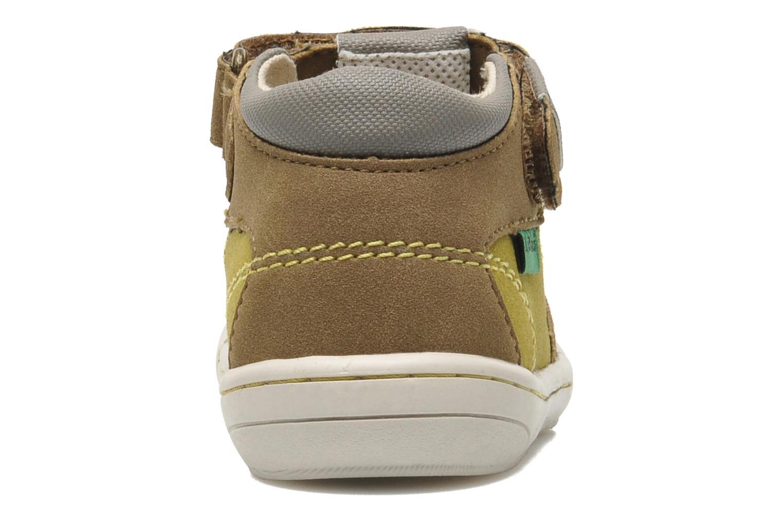 Sandales et nu-pieds Kickers Zelou Vert vue droite
