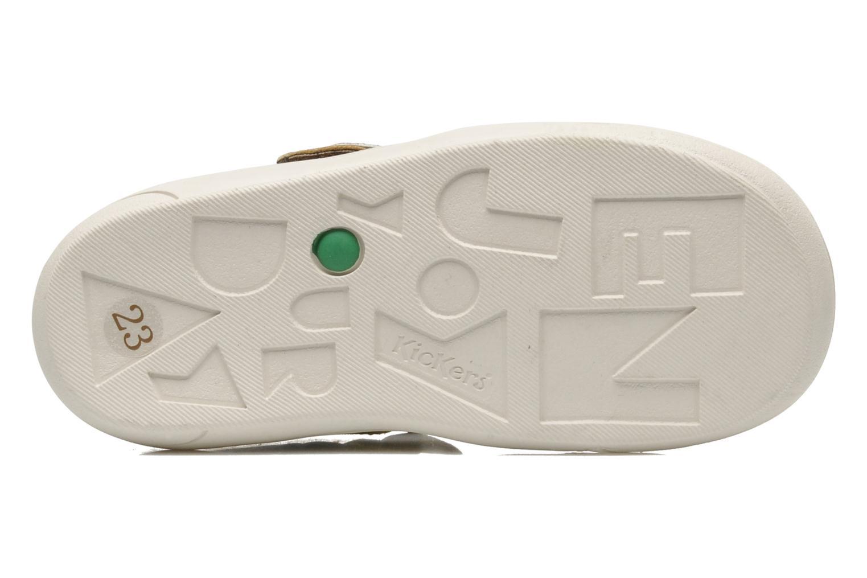 Sandales et nu-pieds Kickers Zelou Vert vue haut