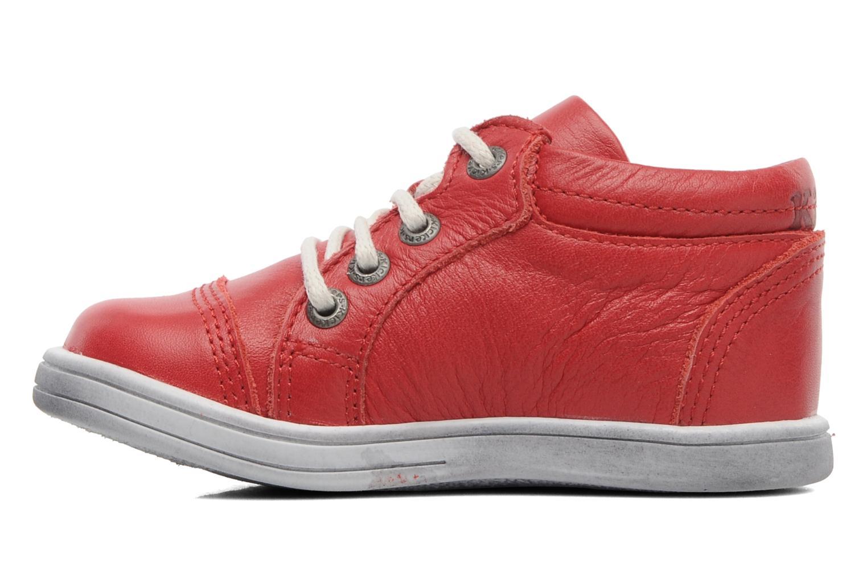 Sneakers Kickers Transfix Rood voorkant