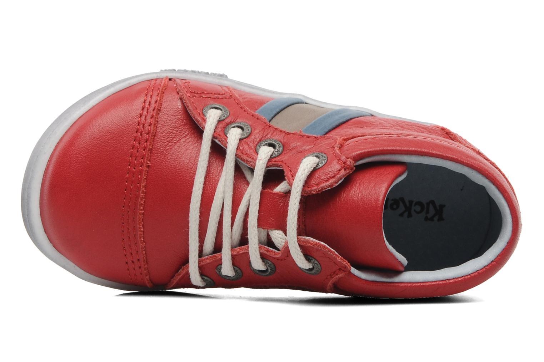 Sneakers Kickers Transfix Rood links