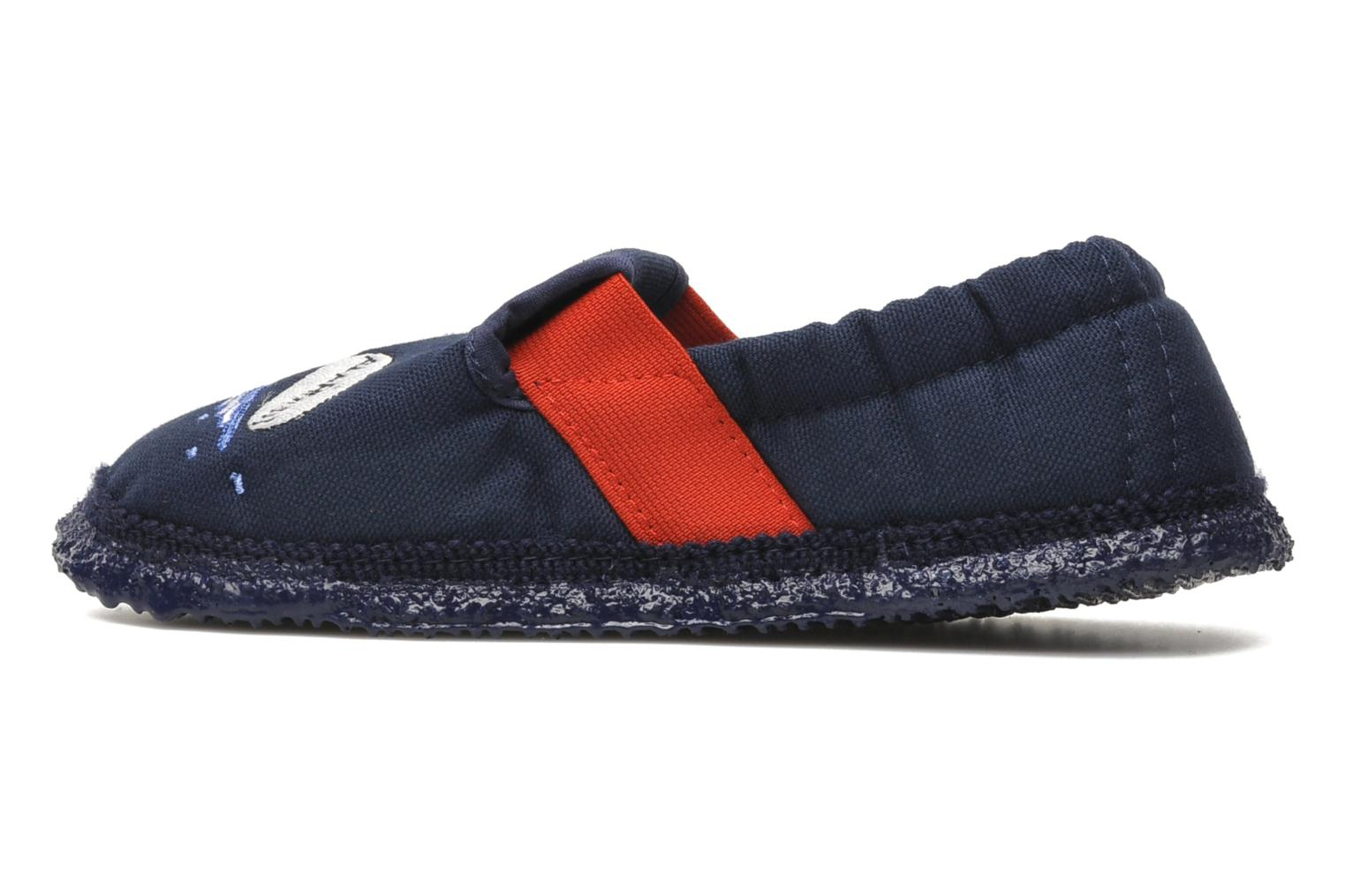 Slippers Giesswein Aurich Blue front view