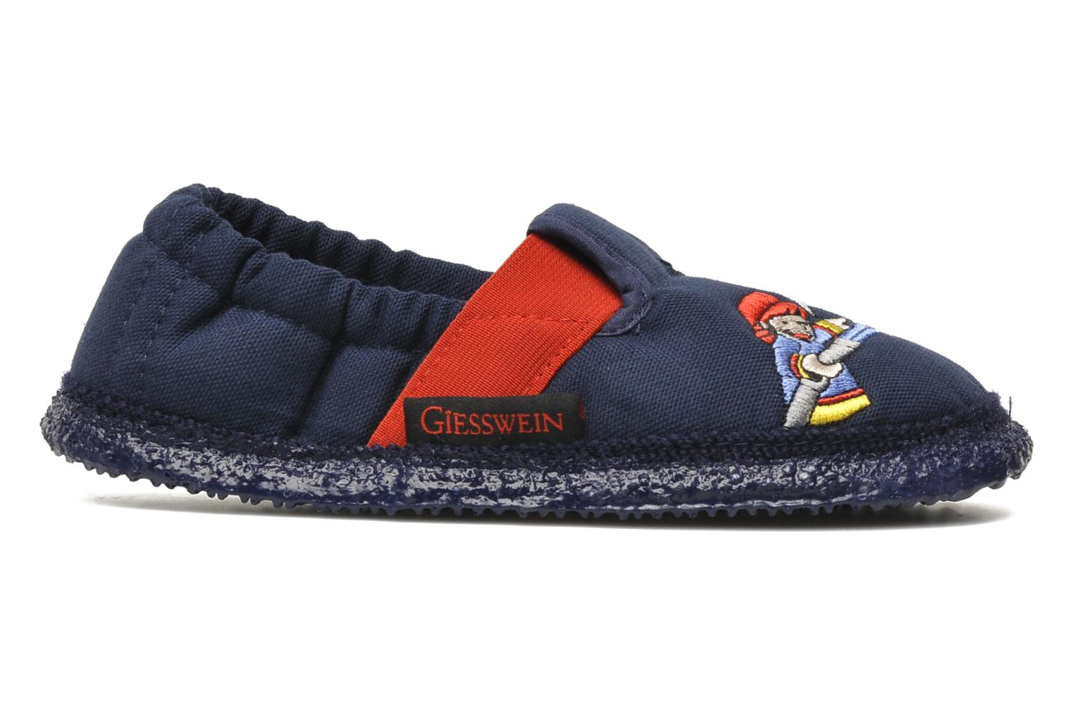 Slippers Giesswein Aurich Blue back view