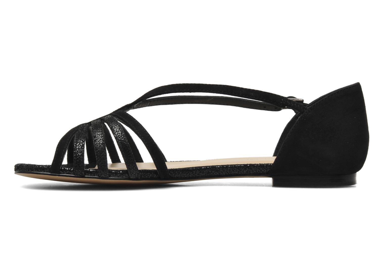 Sandales et nu-pieds Jonak Vulia Noir vue face