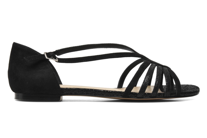 Sandales et nu-pieds Jonak Vulia Noir vue derrière