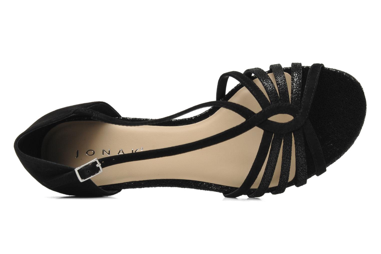 Sandales et nu-pieds Jonak Vulia Noir vue gauche