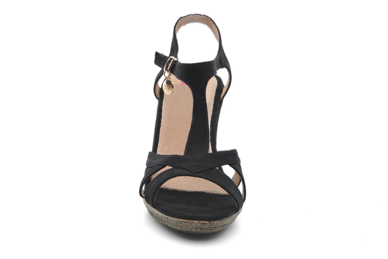 Sandales et nu-pieds Xti Anne Noir vue portées chaussures