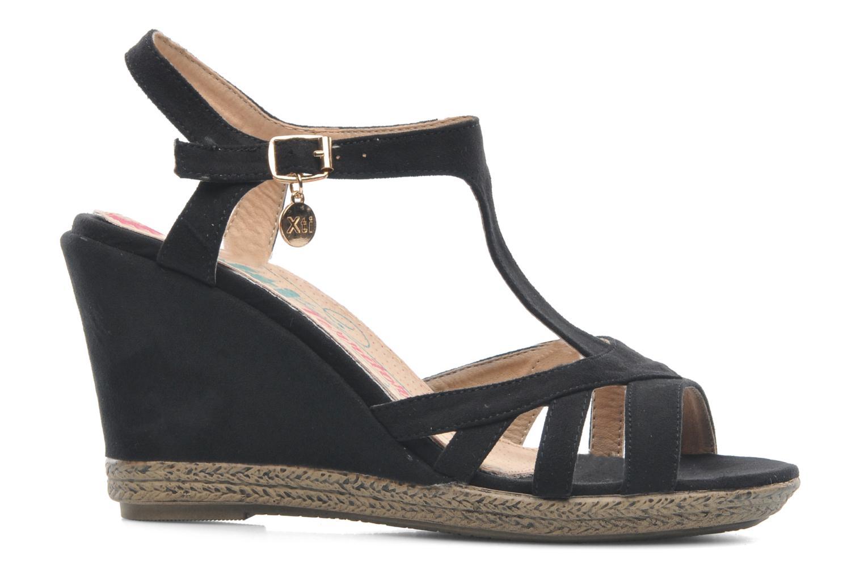 Sandales et nu-pieds Xti Anne Noir vue derrière
