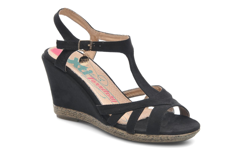 Sandales et nu-pieds Xti Anne Noir vue détail/paire