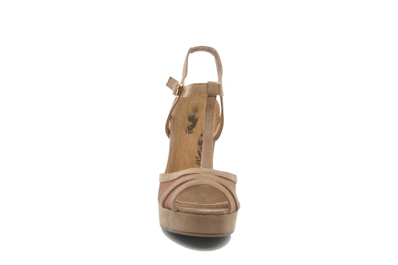 Sandales et nu-pieds Xti Ange Beige vue portées chaussures