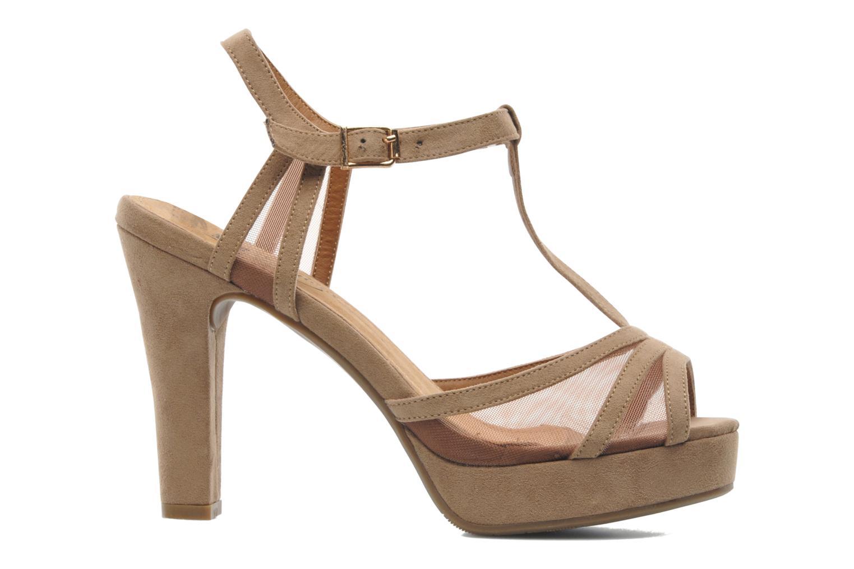 Sandales et nu-pieds Xti Ange Beige vue derrière