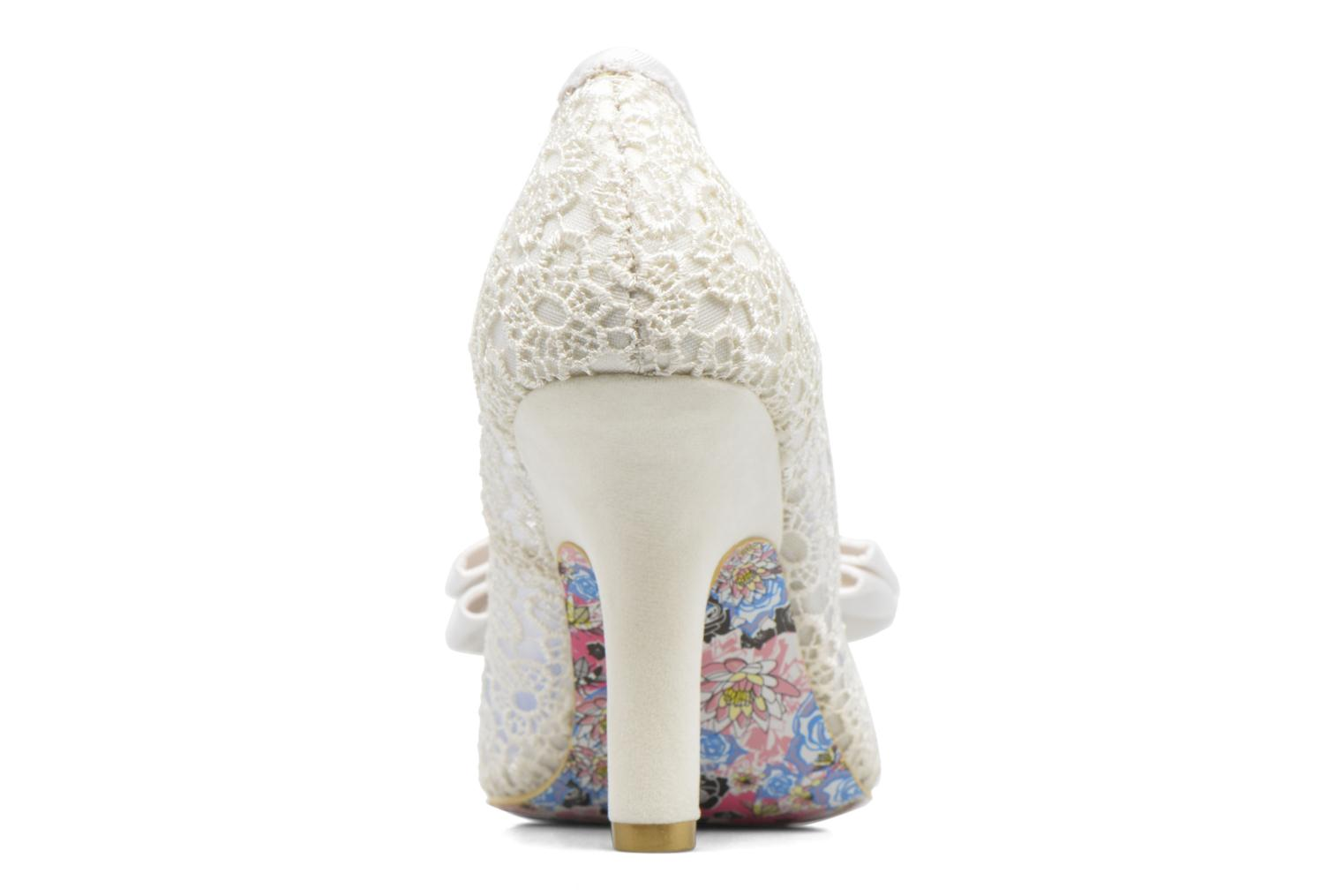 High heels Irregular choice Mal E Bow Beige view from the right