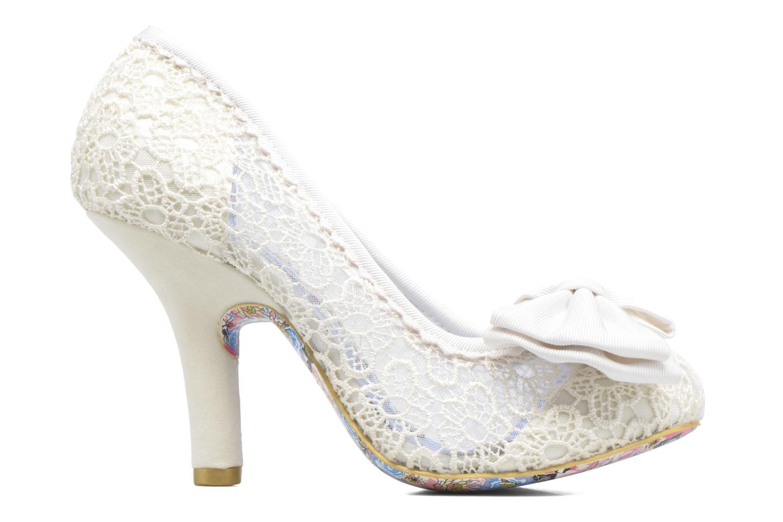 Zapatos de tacón Irregular choice Mal E Bow Beige vistra trasera