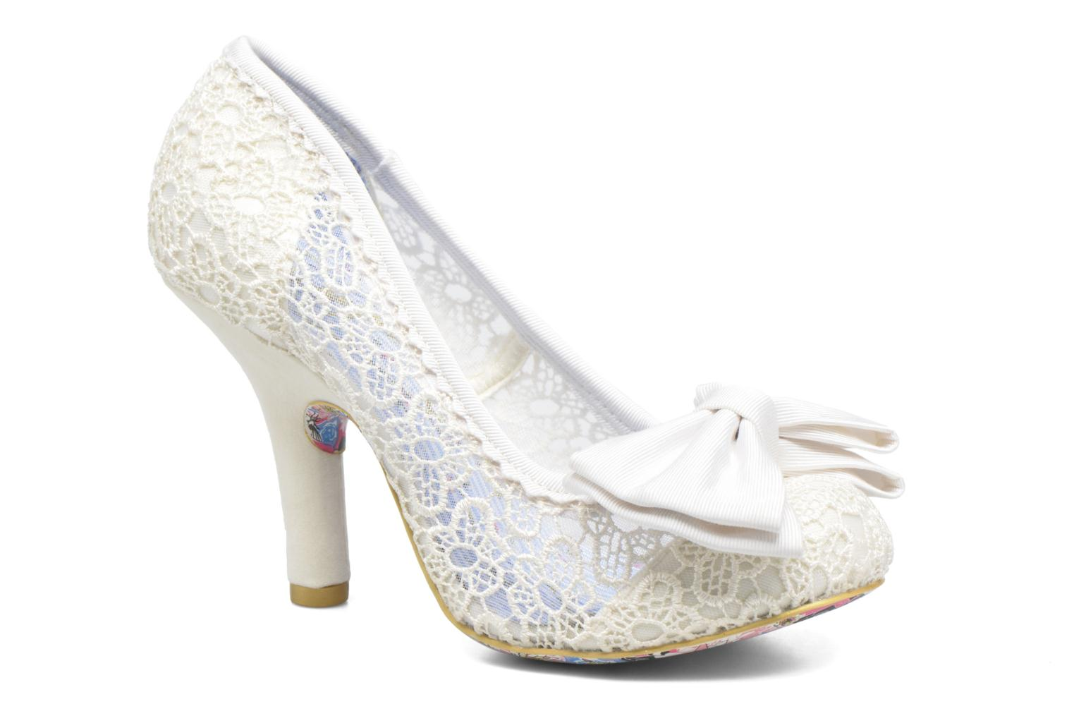 High heels Irregular choice Mal E Bow Beige detailed view/ Pair view