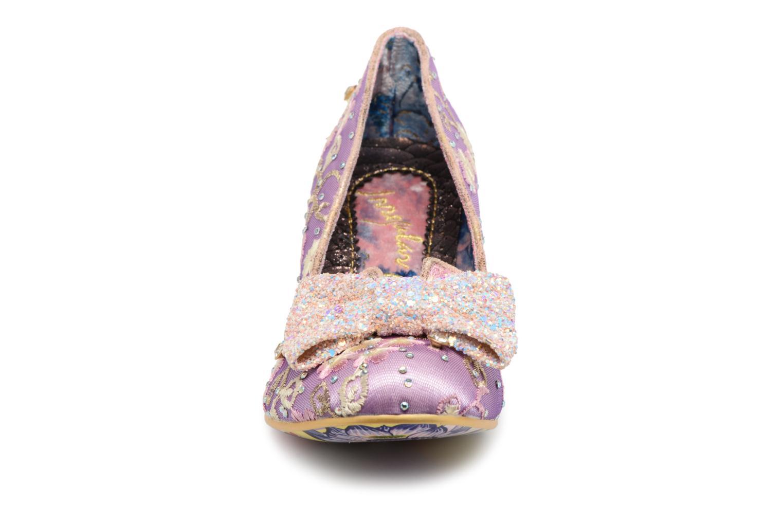 Escarpins Irregular Choice Dazzle Razzle Violet vue portées chaussures