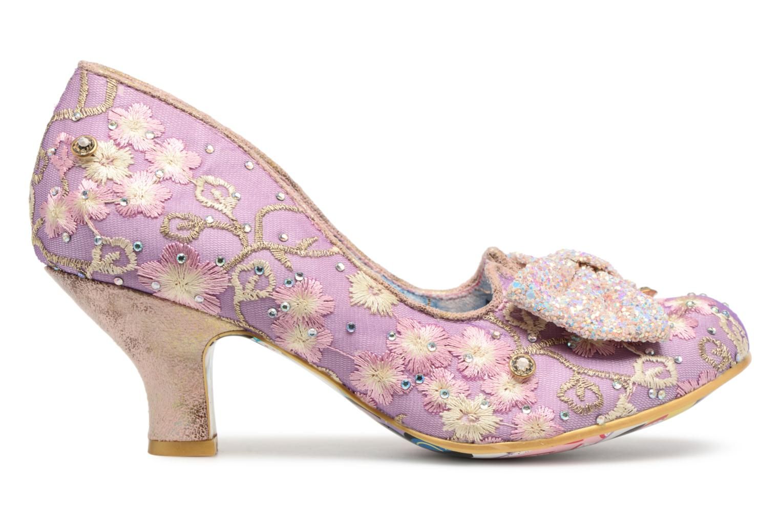Pumps Irregular choice Dazzle Razzle Paars achterkant