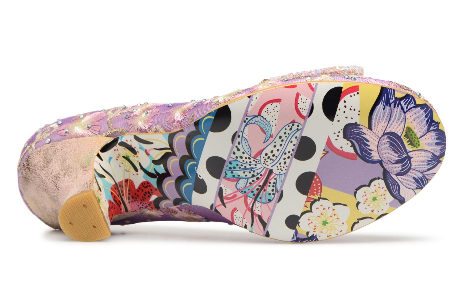 Pumps Irregular choice Dazzle Razzle Paars boven