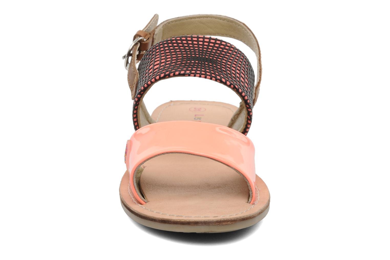 Sandalen Les Tropéziennes par M Belarbi Mini E orange schuhe getragen