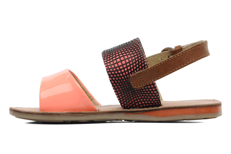Sandalen Les Tropéziennes par M Belarbi Mini E orange ansicht von vorne