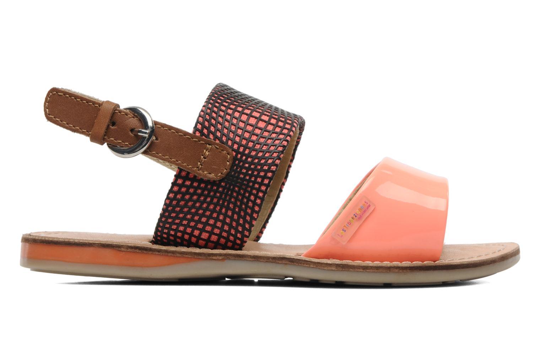 Sandalen Les Tropéziennes par M Belarbi Mini E orange ansicht von hinten