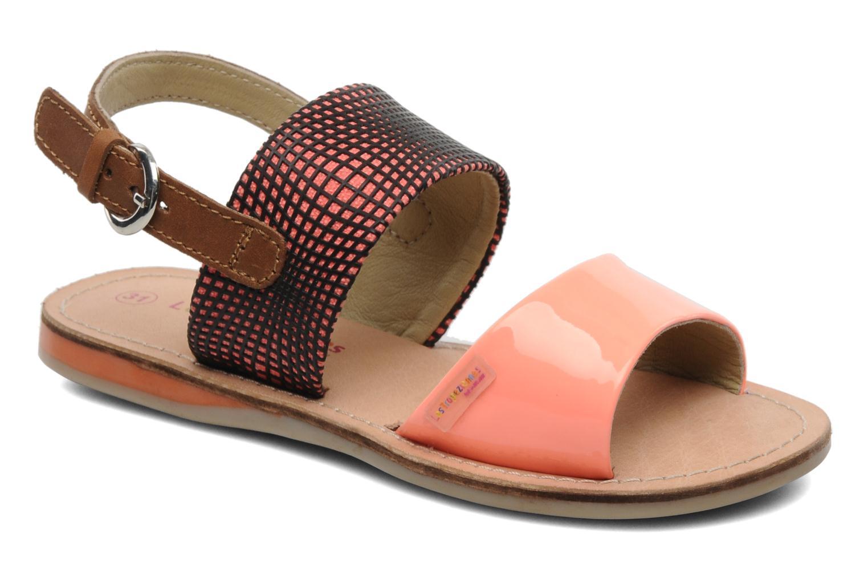 Sandalen Les Tropéziennes par M Belarbi Mini E orange detaillierte ansicht/modell