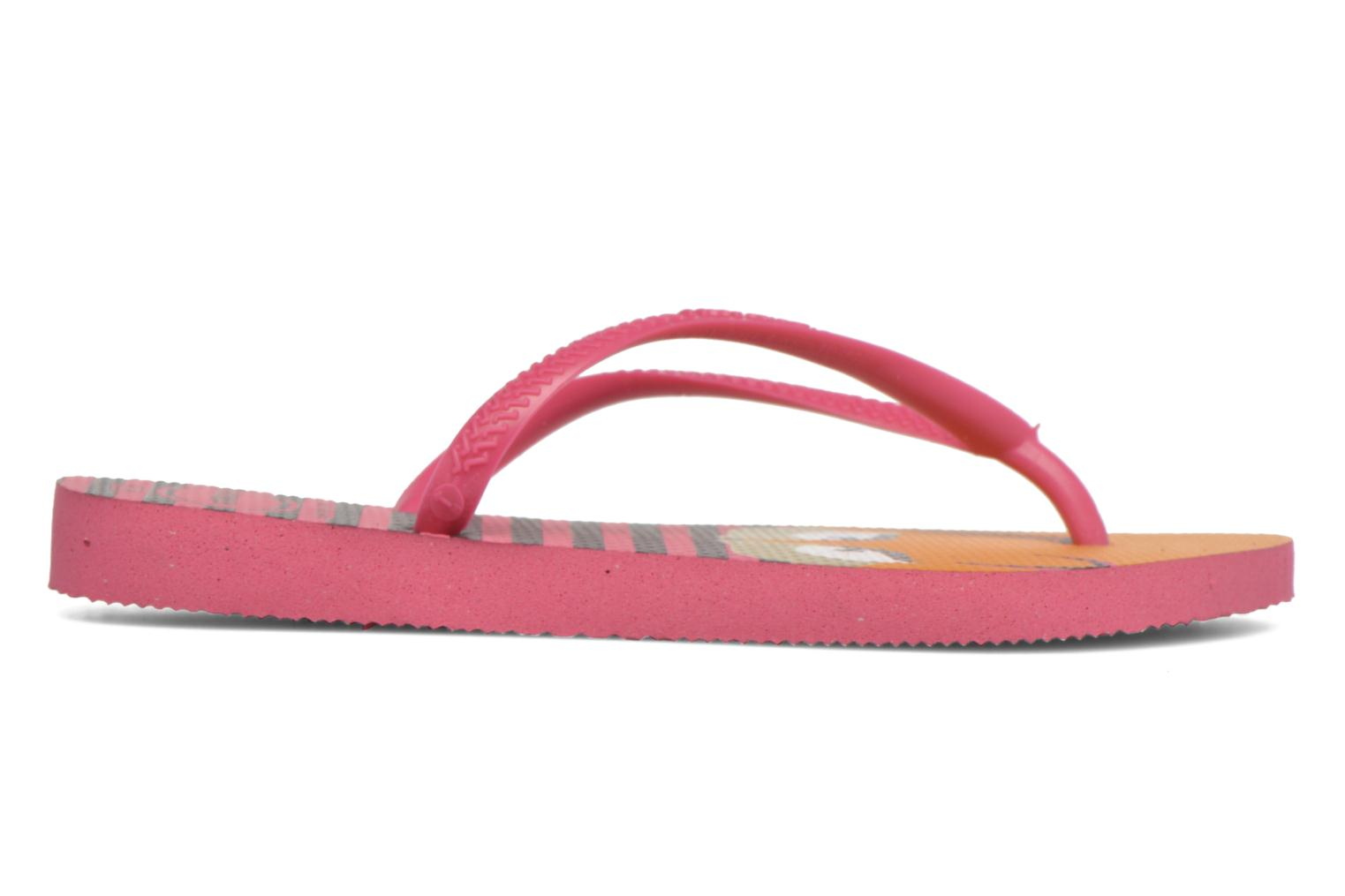 Tongs Havaianas Kids Slim Fashion Rose vue derrière