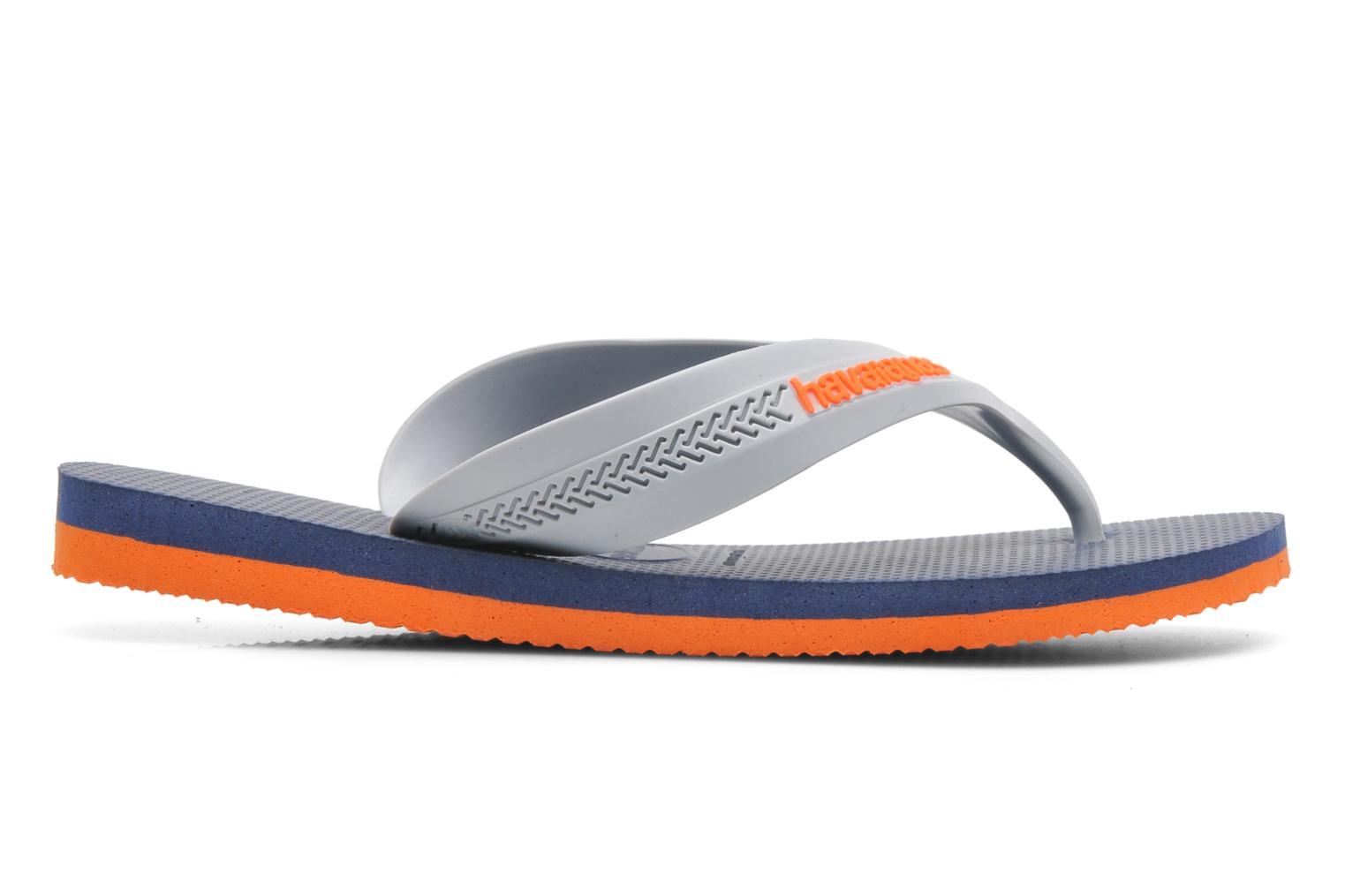 Flip flops Havaianas Kids Max Grey view from the right
