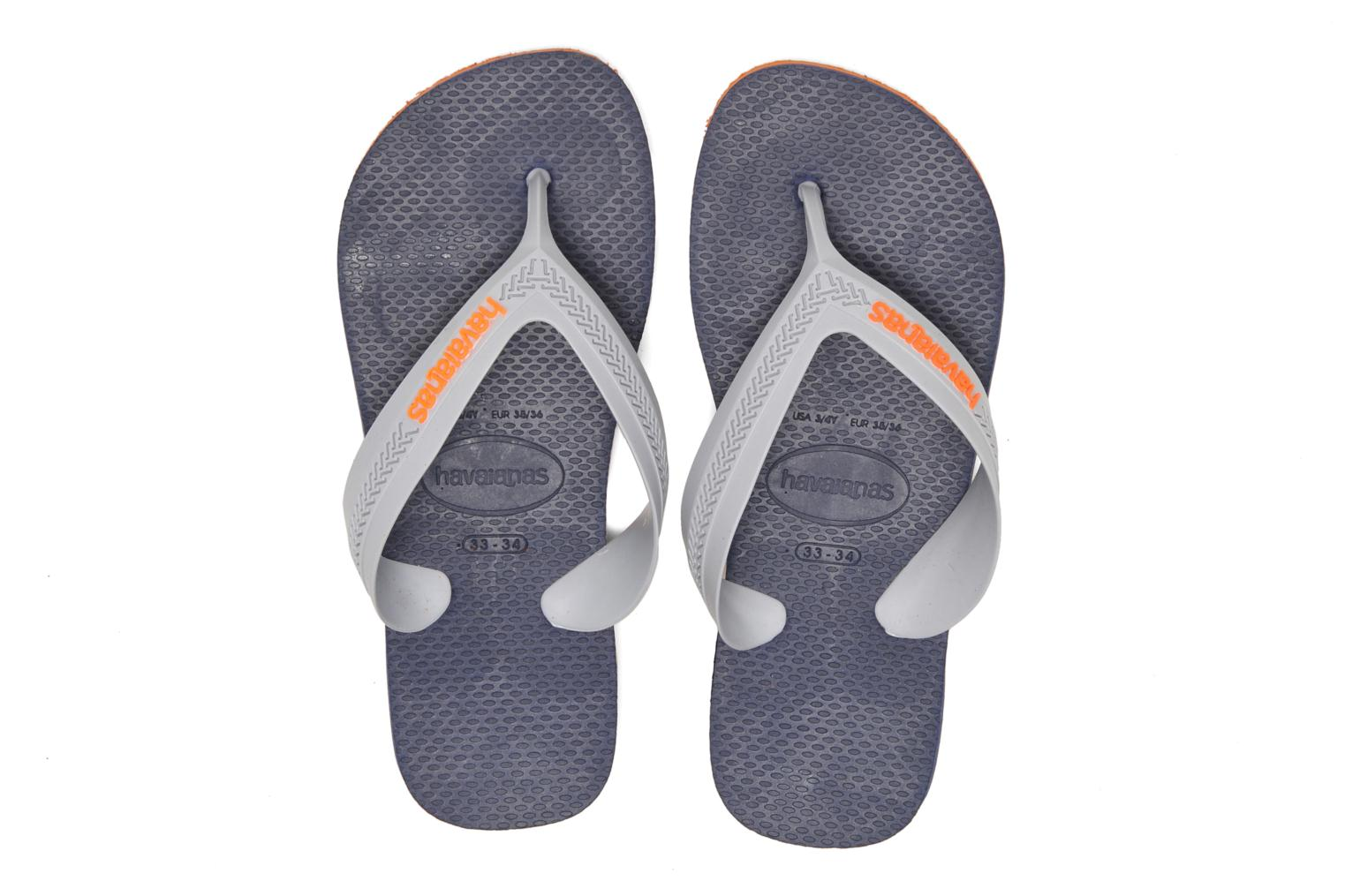 Kids Max Orange/Navy Blue