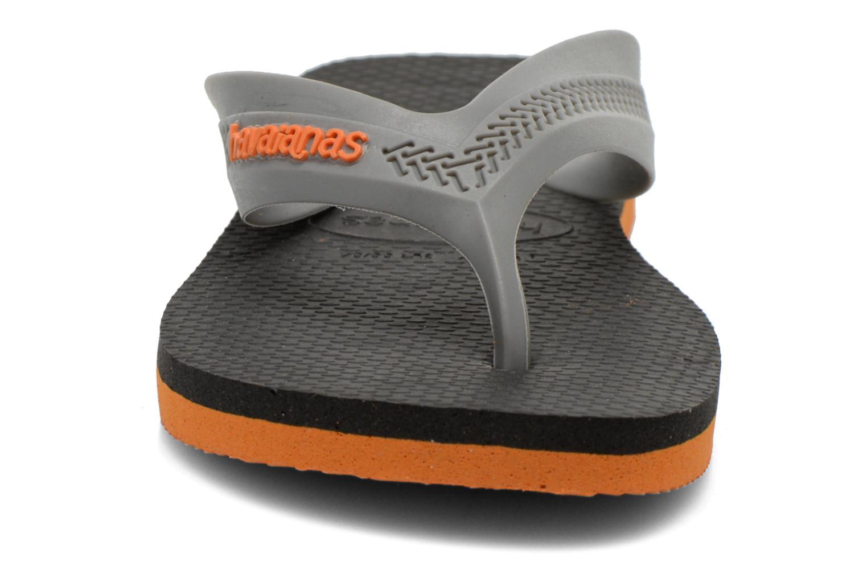 Tongs Havaianas Kids Max Noir vue portées chaussures