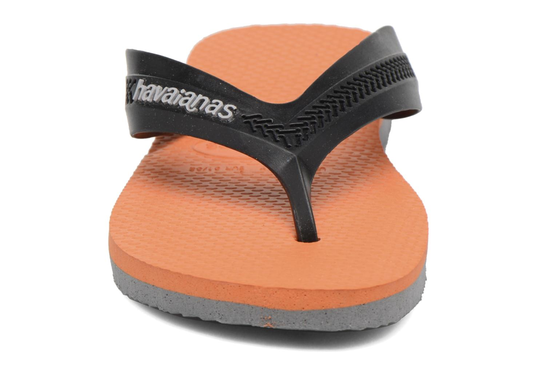 Zehensandalen Havaianas Kids Max orange schuhe getragen