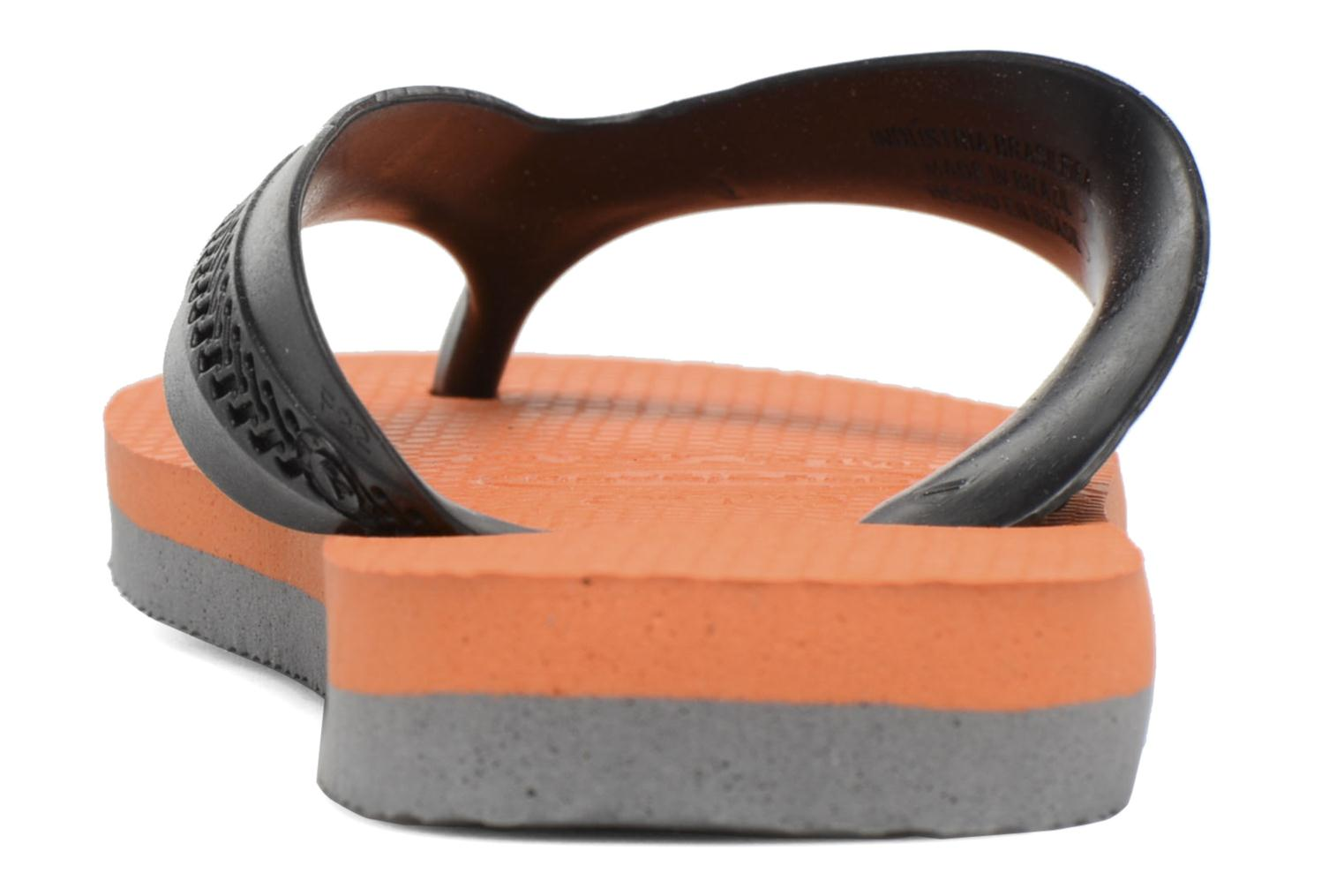 Flip flops Havaianas Kids Max Orange view from the right
