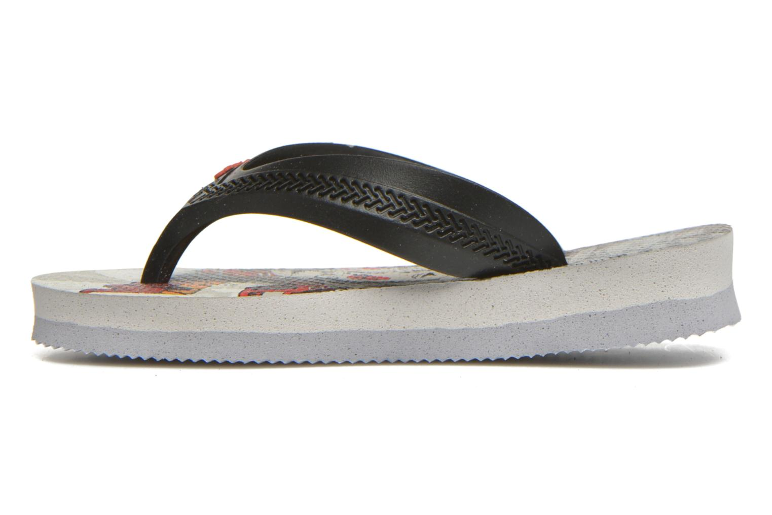 Tongs Havaianas Kids Max Cars Gris vue face