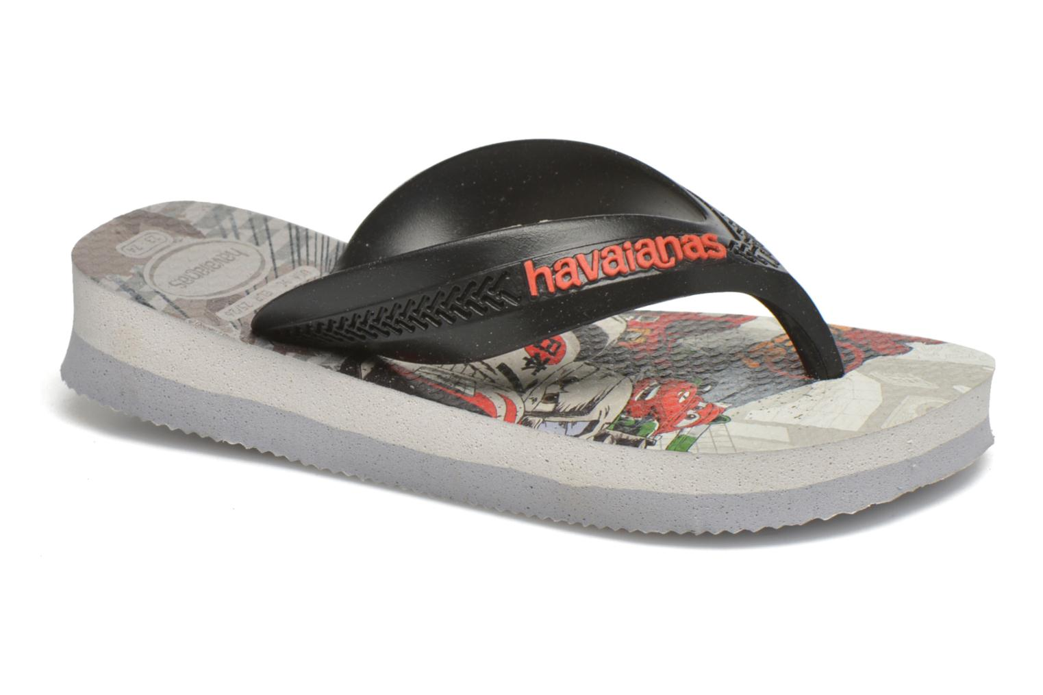 Slippers Havaianas Kids Max Cars Grijs detail