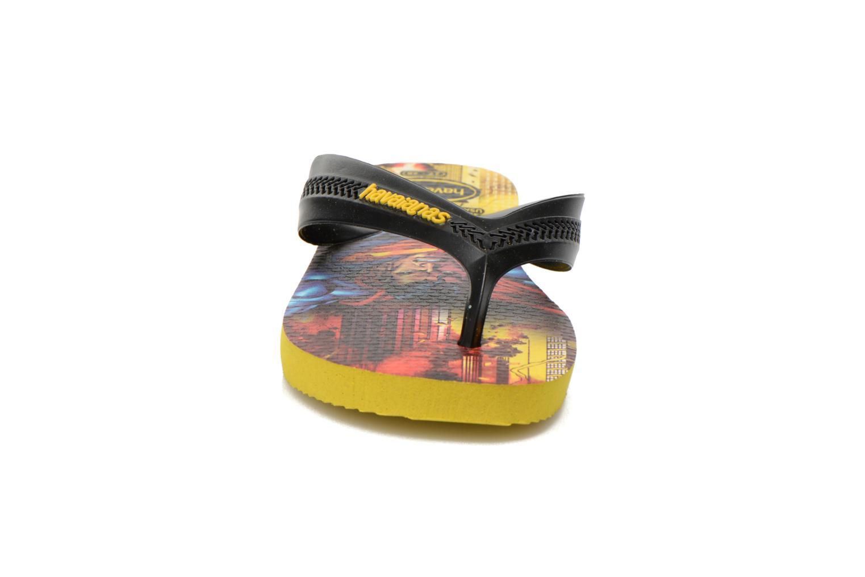 Tongs Havaianas Kids Max Heroes Multicolore vue portées chaussures