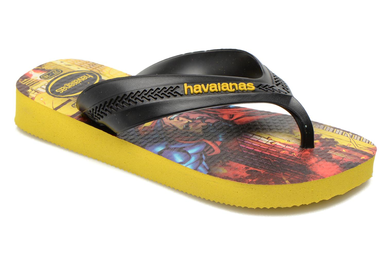 Kids Max Heroes Black/Citrus Yellow