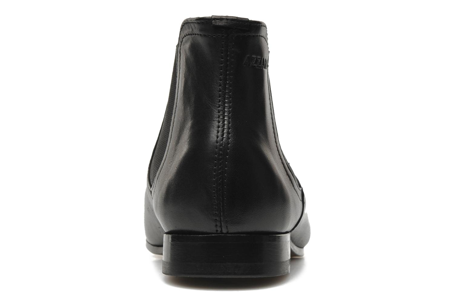 Ankle boots Azzaro Item Black view from the right