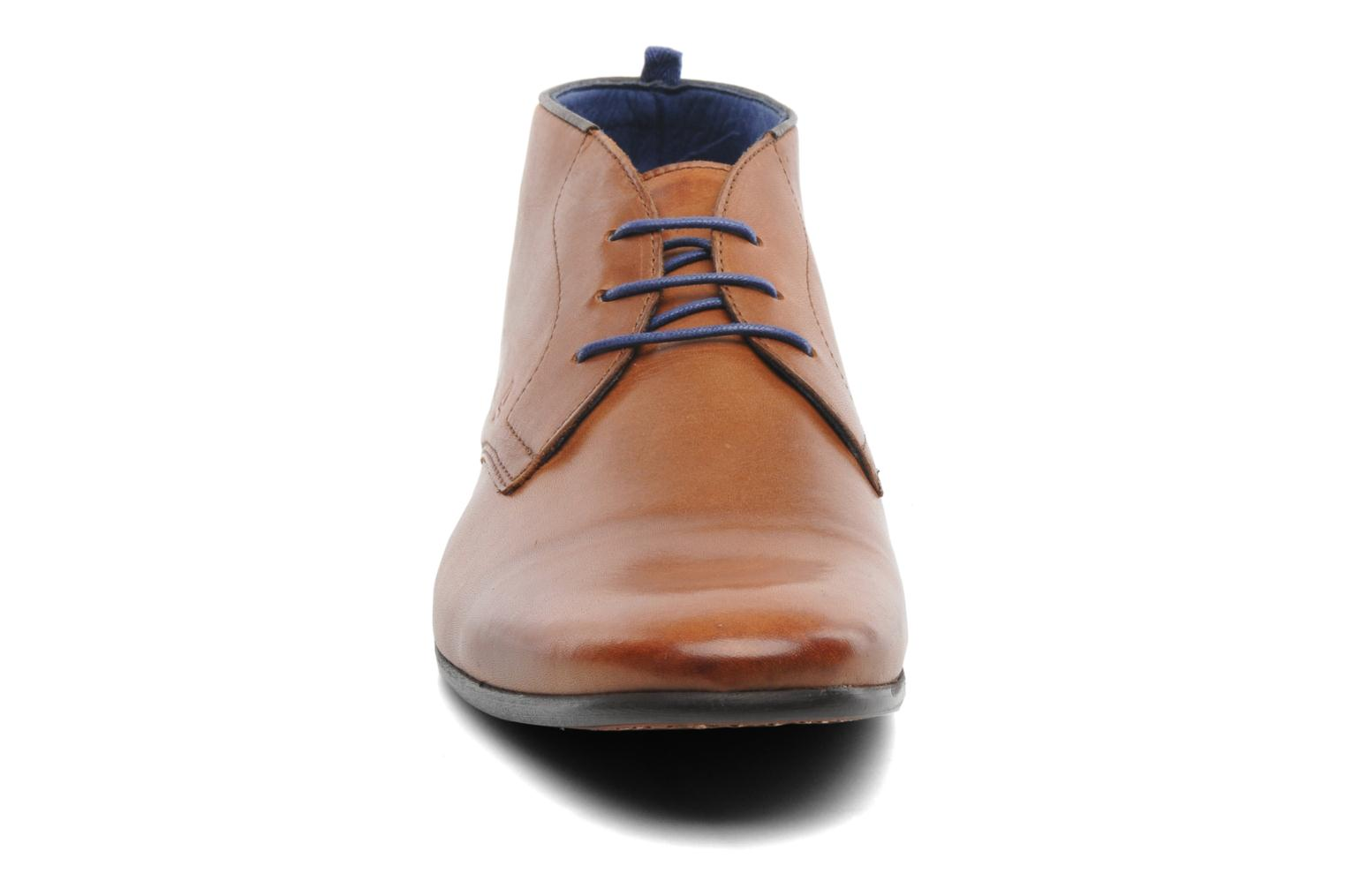 Lace-up shoes Azzaro Ison Brown model view