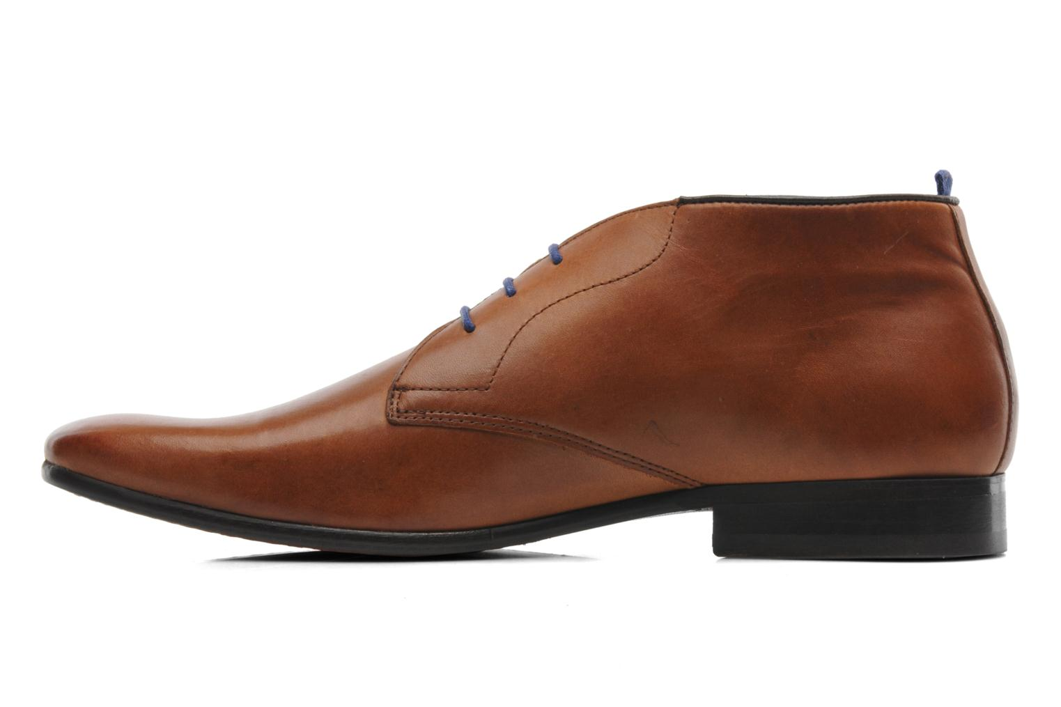 Lace-up shoes Azzaro Ison Brown front view