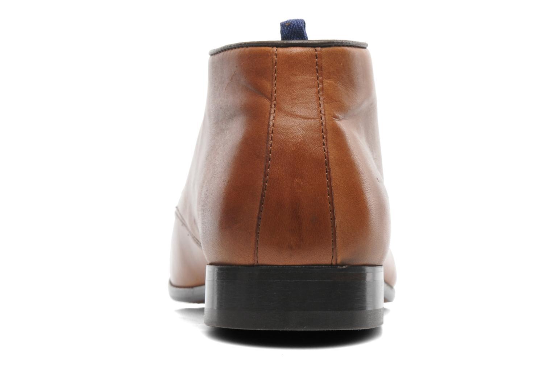 Zapatos con cordones Azzaro Ison Marrón vista lateral derecha