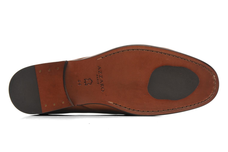 Chaussures à lacets Azzaro Ison Marron vue haut