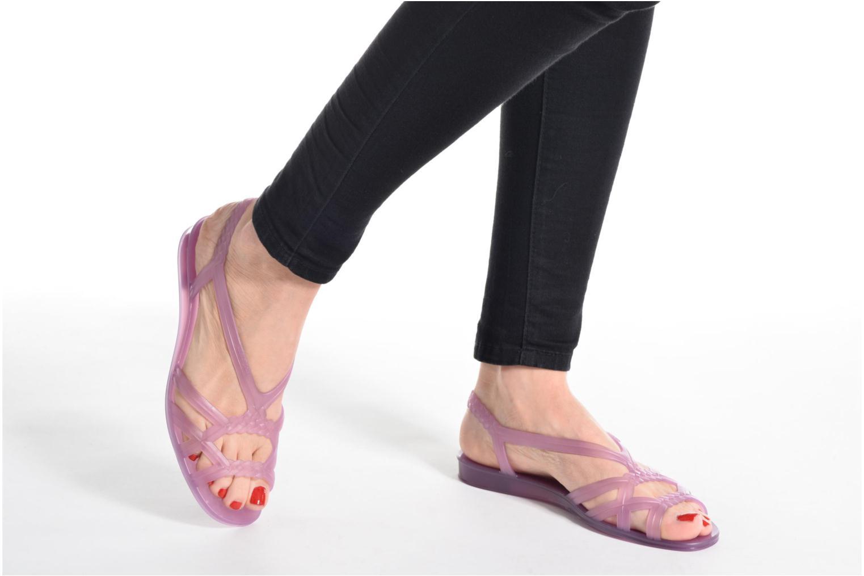 Sandales et nu-pieds Lemon Jelly Mint Rose vue bas / vue portée sac