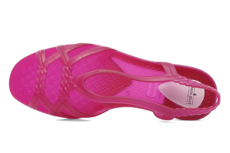 Sandales et nu-pieds Lemon Jelly Mint Rose vue gauche