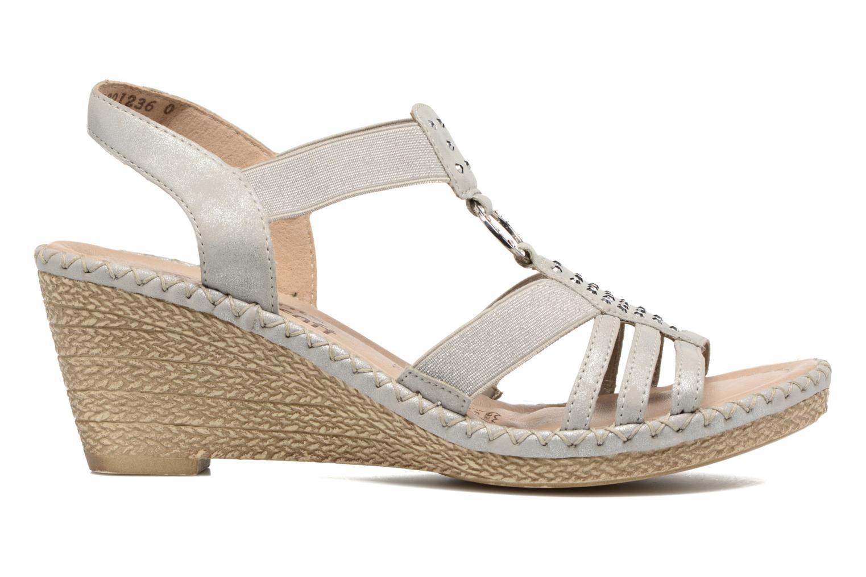 Sandales et nu-pieds Remonte Arasi D6768 Blanc vue derrière