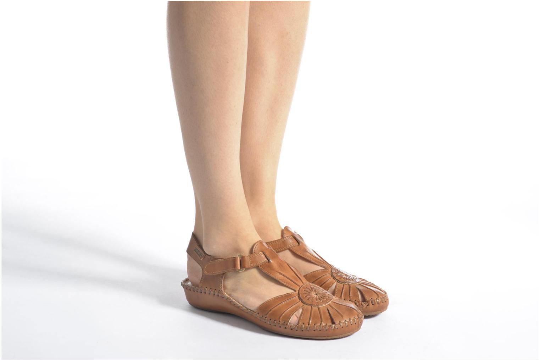 Sandales et nu-pieds Pikolinos P. VALLARTA 655-8899 Rouge vue bas / vue portée sac