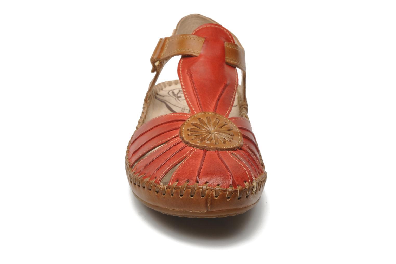 Sandales et nu-pieds Pikolinos P. VALLARTA 655-8899 Rouge vue portées chaussures