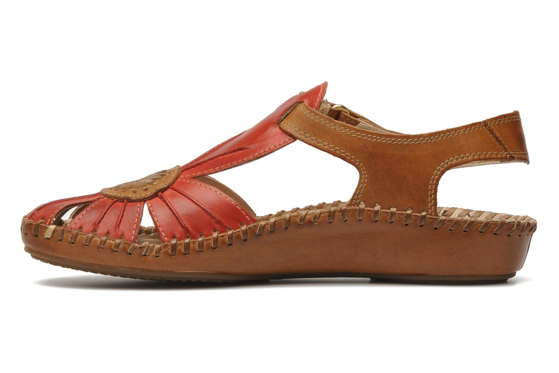 Sandales et nu-pieds Pikolinos P. VALLARTA 655-8899 Rouge vue face