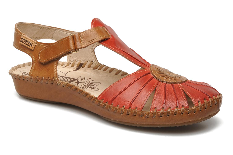 Sandales et nu-pieds Pikolinos P. VALLARTA 655-8899 Rouge vue détail/paire
